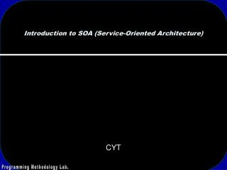 Introduction to SOA (Service-Oriented Architecture)