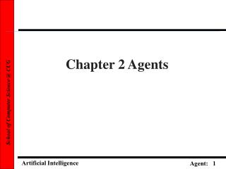 Chapter 2 Agents