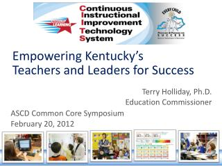 Empowering Kentucky's Teachers and Leaders for Success
