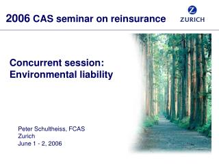 Concurrent session: Environmental liability