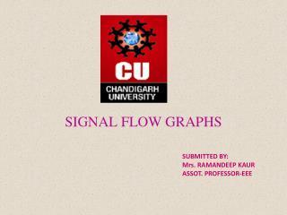 SIGNAL FLOW GRAPHS