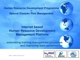 Internet based  Human Resource Development Management Platform