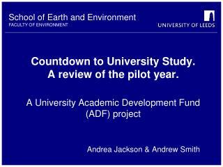 Andrea Jackson & Andrew Smith