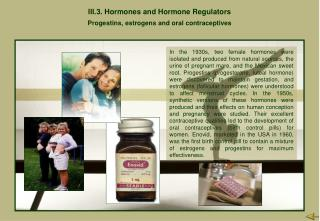 III.3.  Hormones and Hormone Regulators