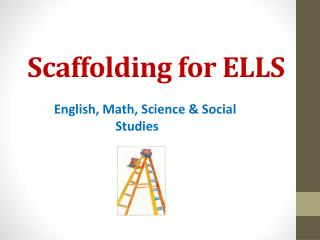 Scaffolding for ELLS