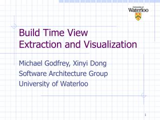 Build Time View Extraction and Visualization