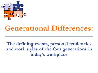 Generational Differences: