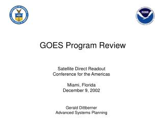 GOES Program Review