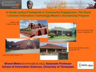 A Social Justice Framework in Community Engagement: The Rural           Librarian Information Technology Master s Schola