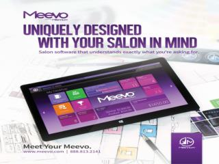 Meevo Spa Appointment Software is the Best Salon Software Sy