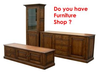 Furniture Shop Business Directory | Create Furniture Website