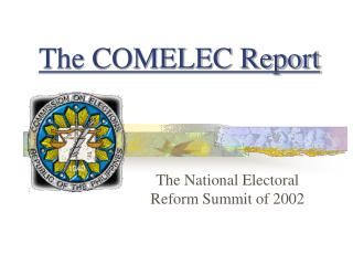 The COMELEC Report