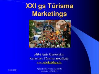 XXI gs Tūrisma Marketings