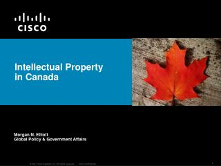 Intellectual Property in Canada