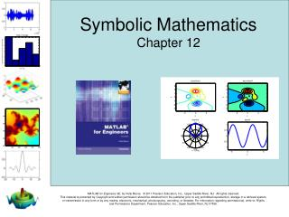 Symbolic Mathematics Chapter 12