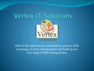 Vertex-IT-Solutions Recruitment Managed Services