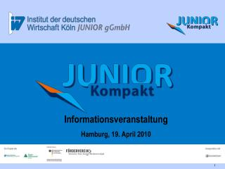 Informationsveranstaltung Hamburg, 19. April 2010