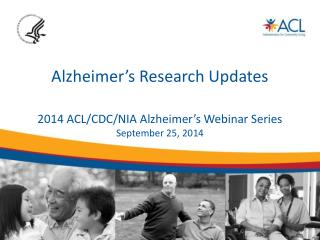 Alzheimer's Research Updates