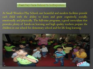 Pre Nursery school education in Ghaziabad