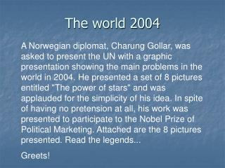 The world 2004