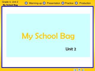 Grade 4, Unit 2