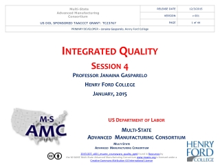 STATISTIC TOOLS FOR QUALITY CONTROL