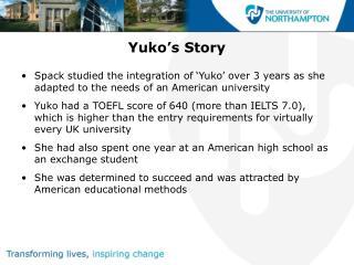 Yuko's Story