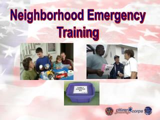 Neighborhood Emergency Training