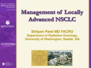 Management of Locally Advanced NSCLC