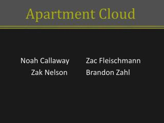 Apartment Cloud