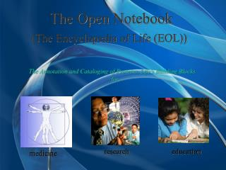 (The Encyclopedia of Life (EOL))