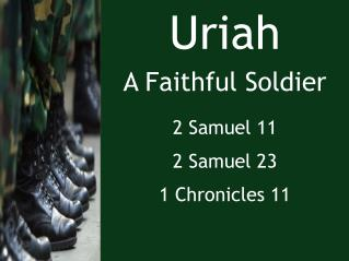 Uriah