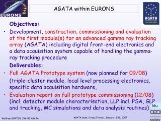 AGATA within EURONS