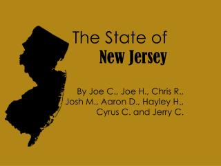 The State of New Jersey