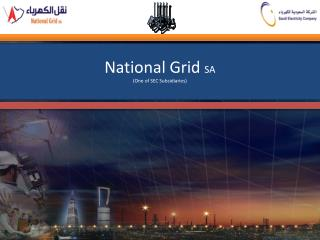 Smart Grid in Action in  National Grid  SA