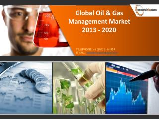 Global Oil & Gas Management Market Size 2013-2020