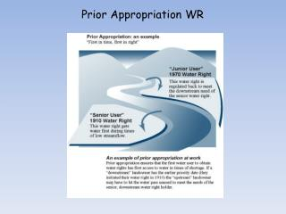 Prior Appropriation WR