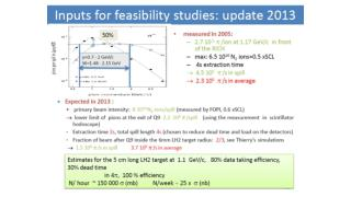 Count rate estimates from TDR