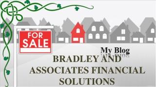 Bradley skattesats varning: fyra fast räntesats inteckningar