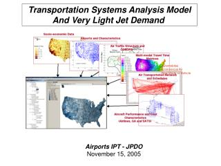 Transportation Systems Analysis Model And Very Light Jet Demand