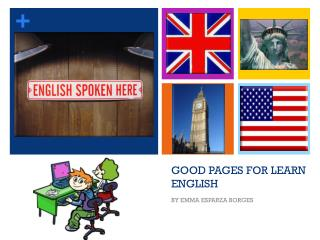 GOOD PAGES FOR LEARN ENGLISH