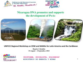 Nicaragua DNA promotes and supports the development of PoAs