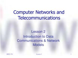 Computer Networks and  Telecommunications