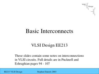 Basic Interconnects