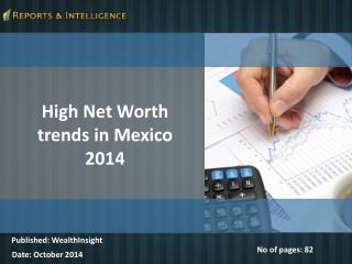R&I: Mexico High Net worth Market - Size, Share, Global Tren