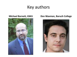 Key authors
