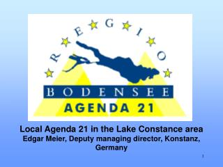 Local Agenda 21 in the Lake Constance area