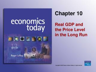 Real GDP and  the Price Level  in the Long Run