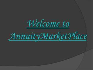 Annuity| Annuity Cost