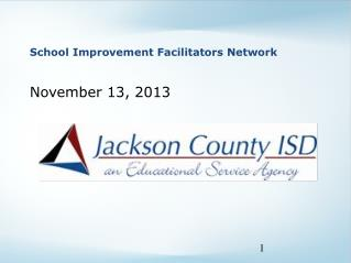 School Improvement Facilitators Network
